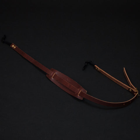 Wood & Faulk Leather Camera Strap Tan at The Lodge