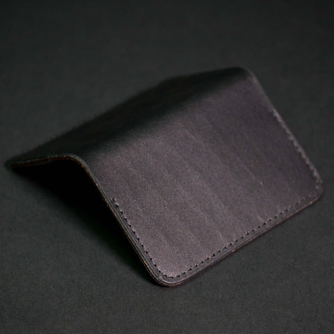 Woolly Leather Flip Card Wallet at The Lodge