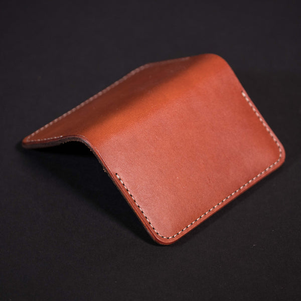 Woolly Brown Leather Flip Wallet at The Lodge