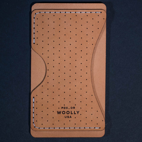 Woolly Phone Wallet Natural with Dots at The Lodge