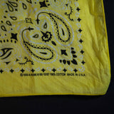 WASHED GOLD ORIGINAL BANDANA