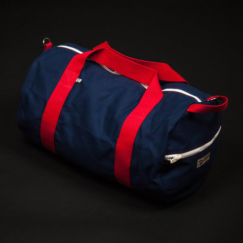 Hudson Sutler Yorktown Weekend Duffle Navy at The Lodge