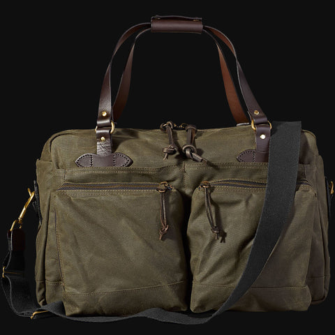 Filson 48-Hour Duffel Bag Otter Green Tin Cloth