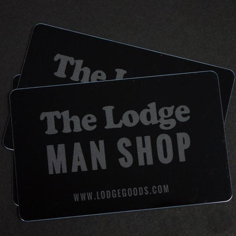 THE LODGE GIFT CARD - MAILED