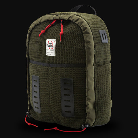 Topo Designs Woolrich Daypack Olive Waffle Wool