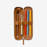 THIS IS GROUND TOFFEE LEATHER PEN ORGANIZER