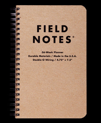 FIELD NOTES 56-WEEK PLANNER - THE LODGE
