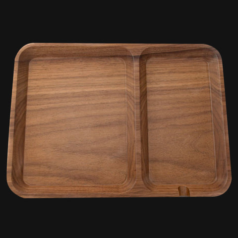 SOLID WALNUT WOOD VALET TRAY