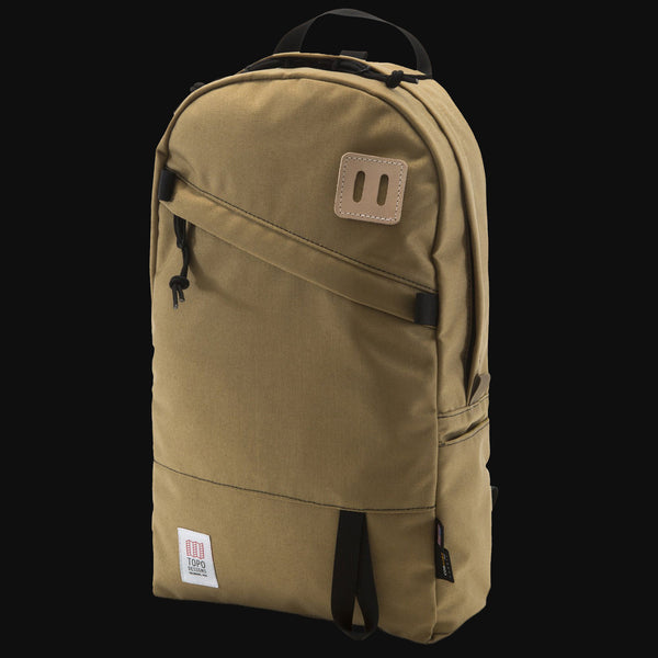 Topo Designs Khaki Daypack Backpack The Lodge