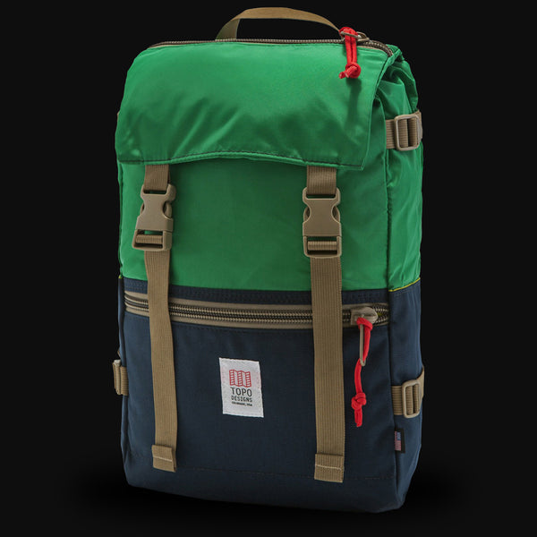 Topo Designs Rover Pack Navy/Kelly Backpack