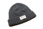 Ivey League Design x Champion - Heather Navy Ribbed Knit Cap