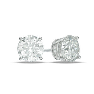 Elizabeth Diamond Stud Earrings