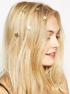 """Star Princess"" Hair Charms"