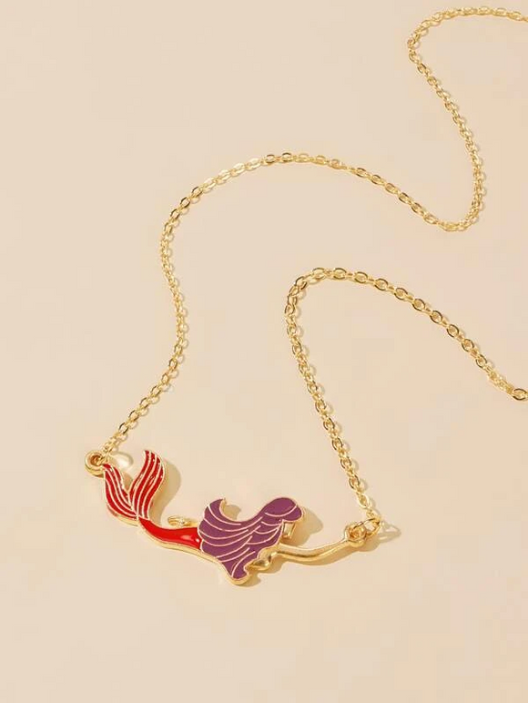 """Mermaid Princess"" Necklace"