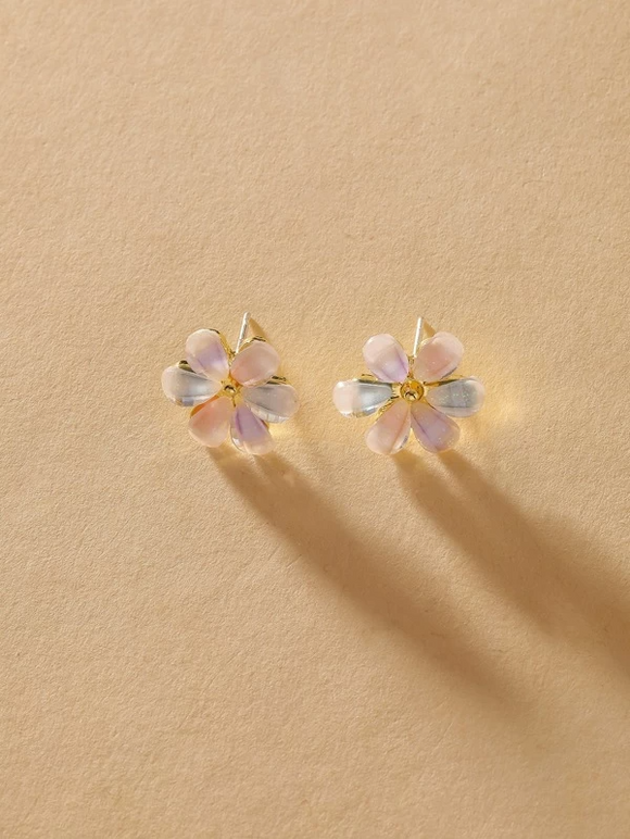 """Flower Child"" Stud Earrings"