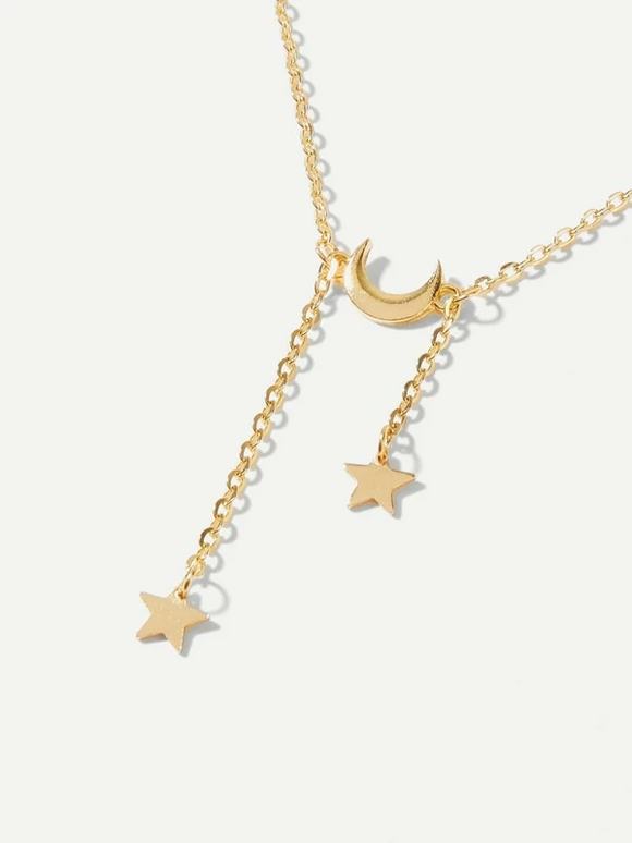 """To The Moon & Back"" Pendant Necklace"