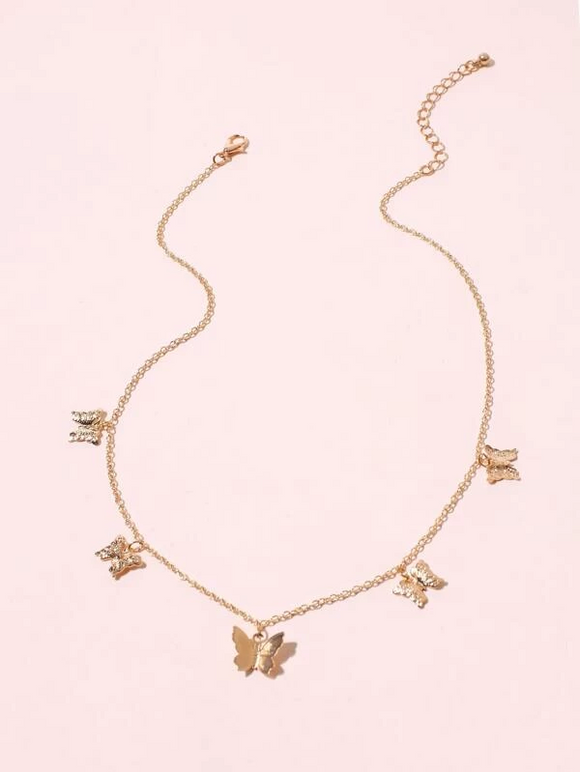 """Butterfly Trail"" Necklace"
