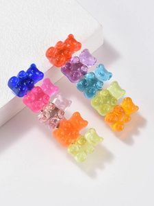 """Sweet Like Candy"" Gummy Bear Hair Clips"