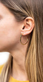 Girls Just Wanna Have Fun Hoop Earrings