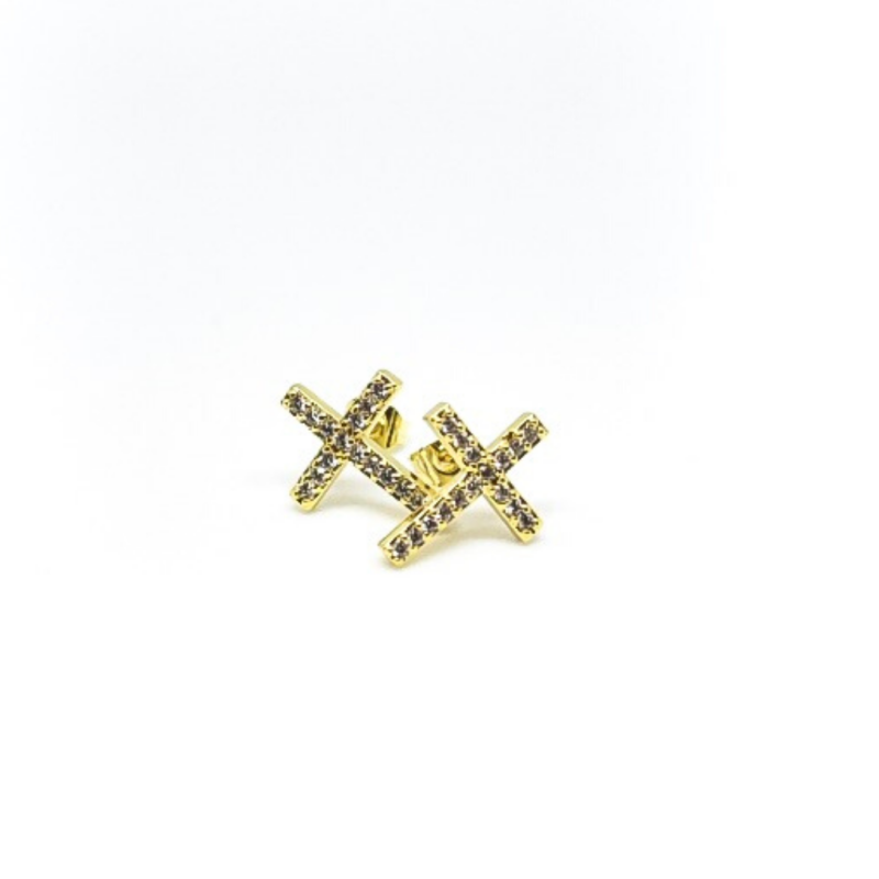 Faith Foward Stud Earrings