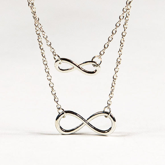 Double Infinity Necklace