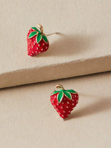 """Love You Berry Much"" Stud Earrings"