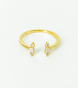 """Boho Babe"" Gold Ring"