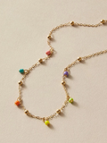 """Over The Rainbow"" Charm Necklace"