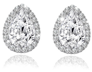 Signature LuLu Couture Fiona Diamond Simulant Earrings