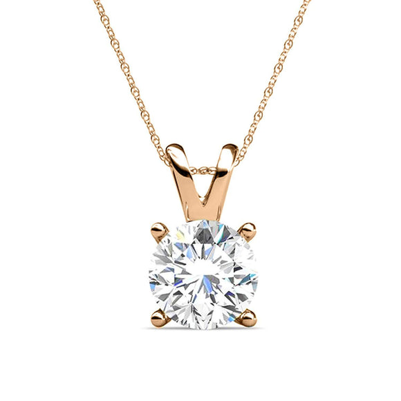 Signature LuLu Couture Rose Gold Pendant