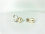 """Timeless"" Pearl Clip-On Earrings"