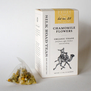 organic Chamomile Flowers herbal tea