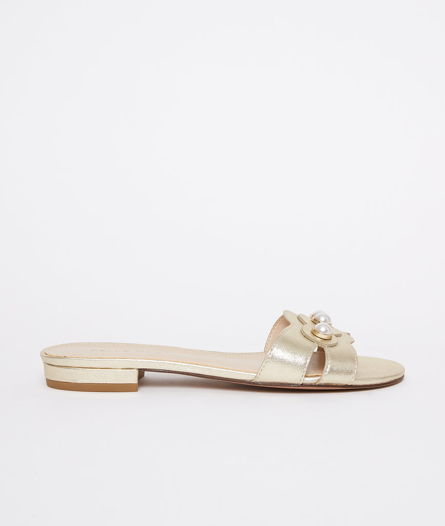 PELLE MODA - Barton Slip On - Gold