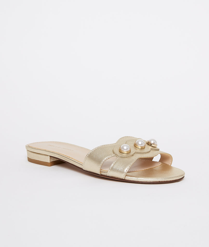Barton Slip On - Gold