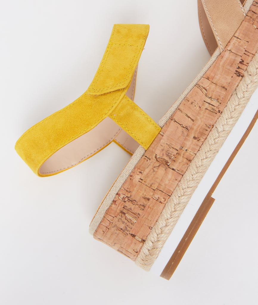 Poppy Flatform - Lemon