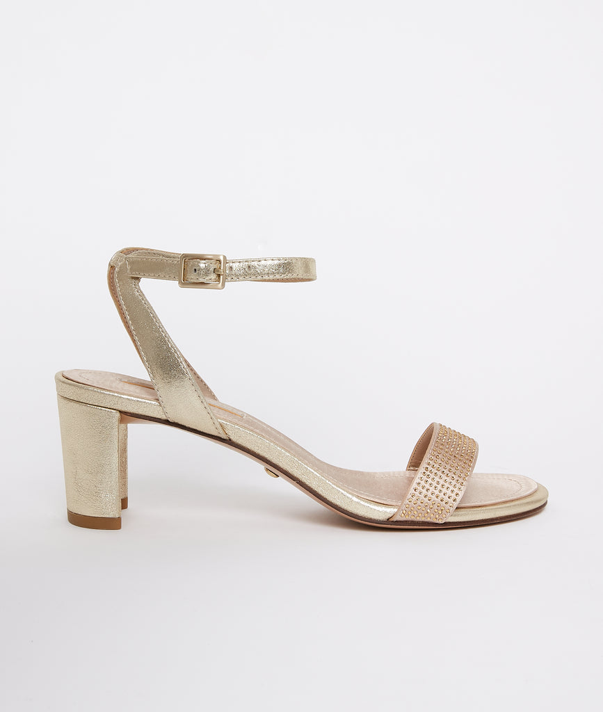 PELLE MODA - Moira Low Heel - Gold