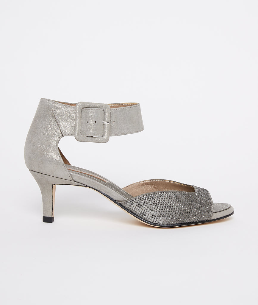 Berlin 6 Low Heel - Pewter