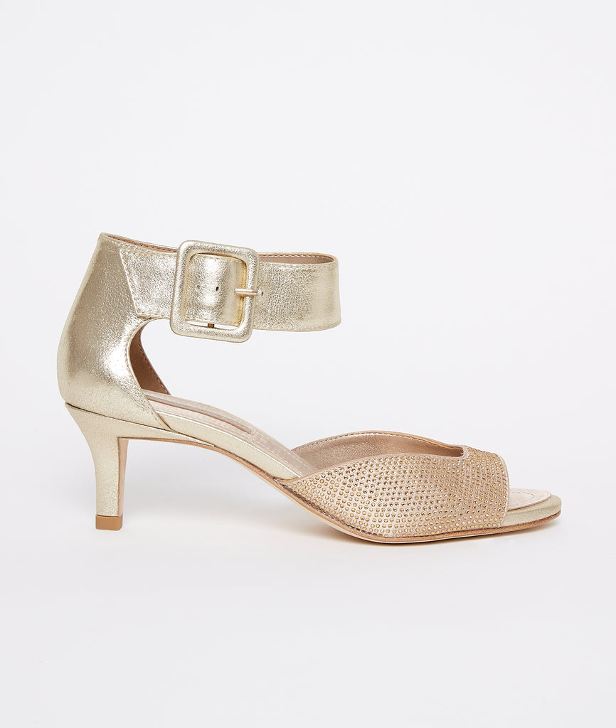 PELLE MODA - Berlin Low Heel - Gold