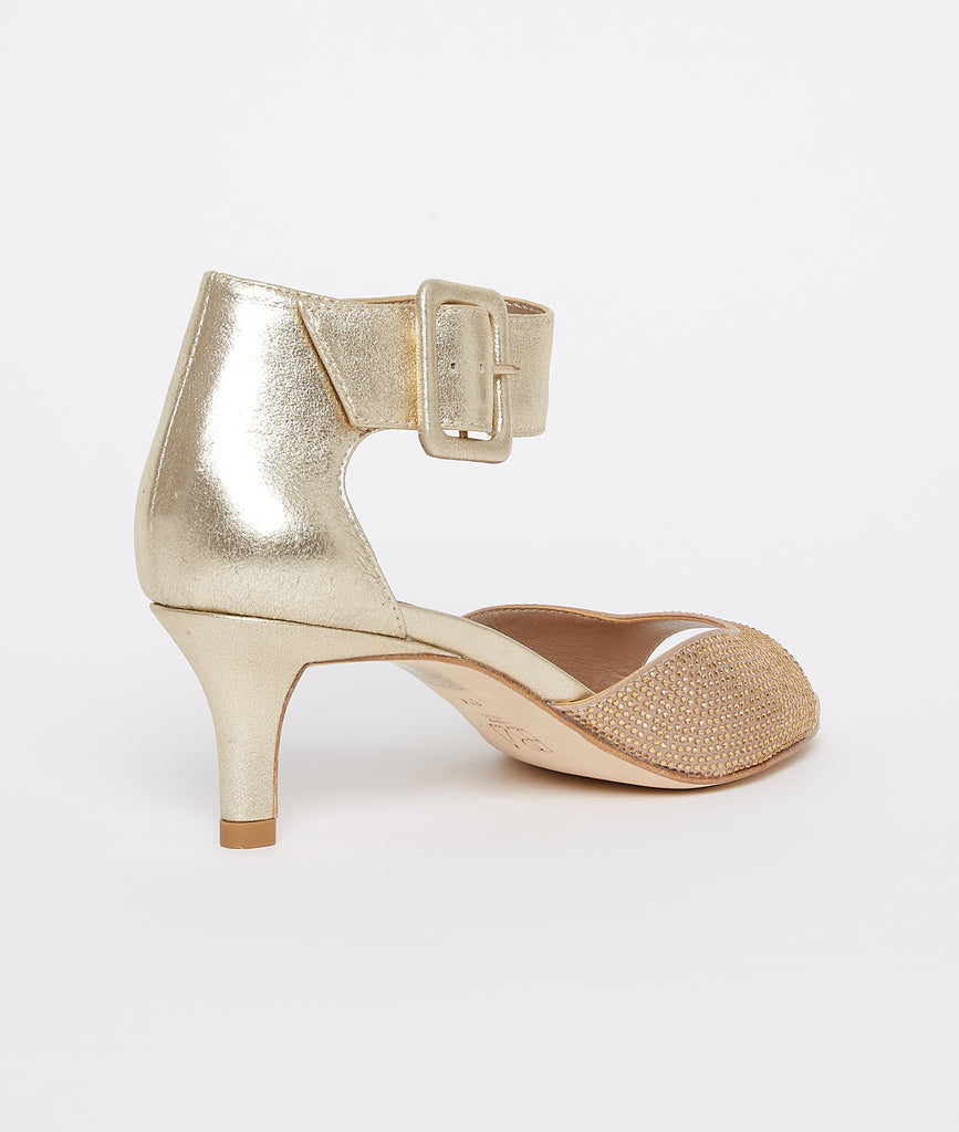 Berlin 6 Low Heel - Gold