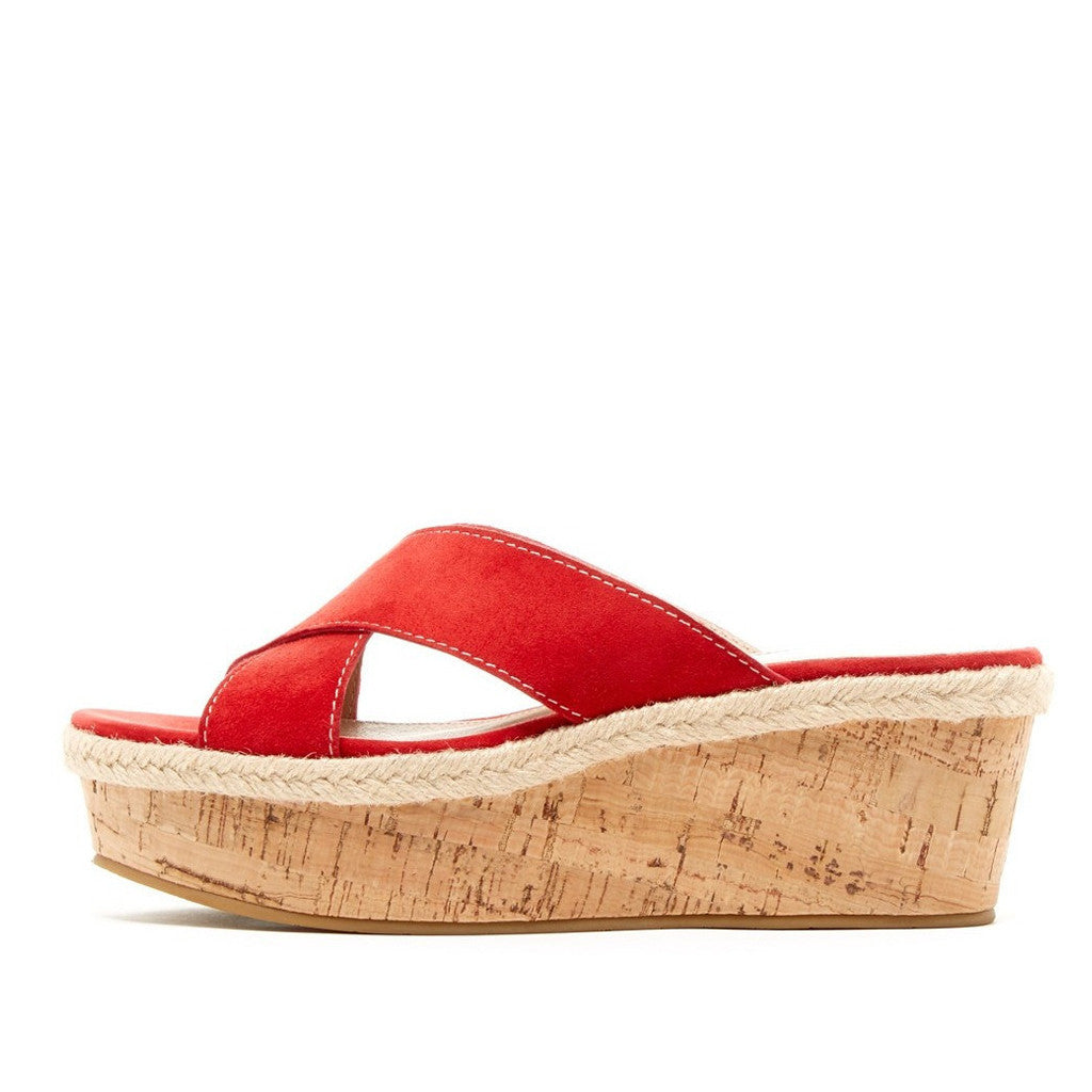 Hariet (Lipstick / Kid Suede / Cork)  70% Off