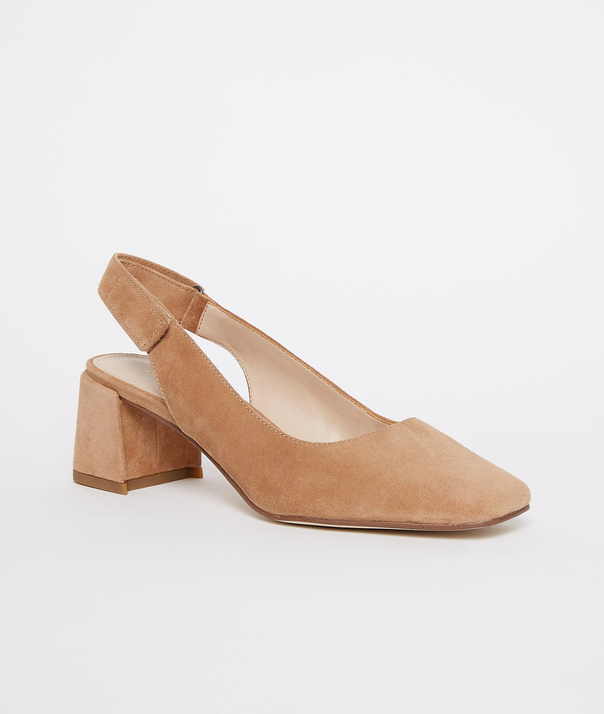 Alek Low Heel - Latte
