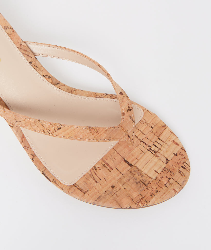 Effi 4 Low Heel - Natural