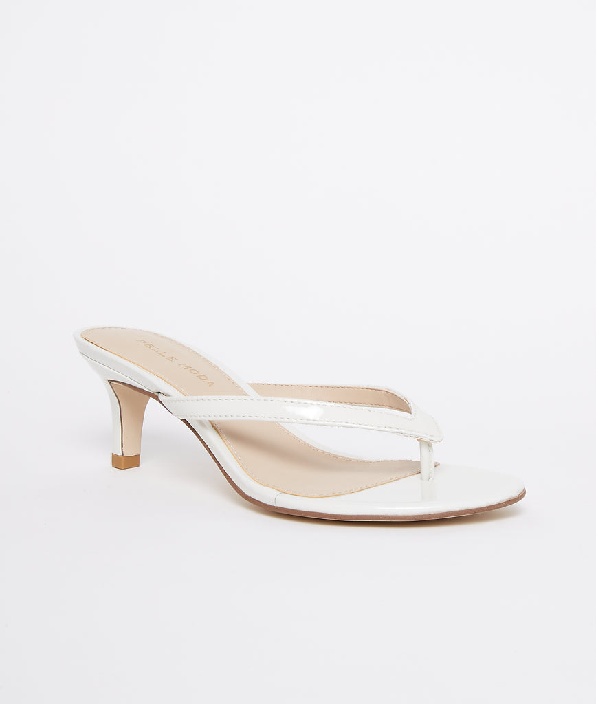 Effi 4 Low Heel - White