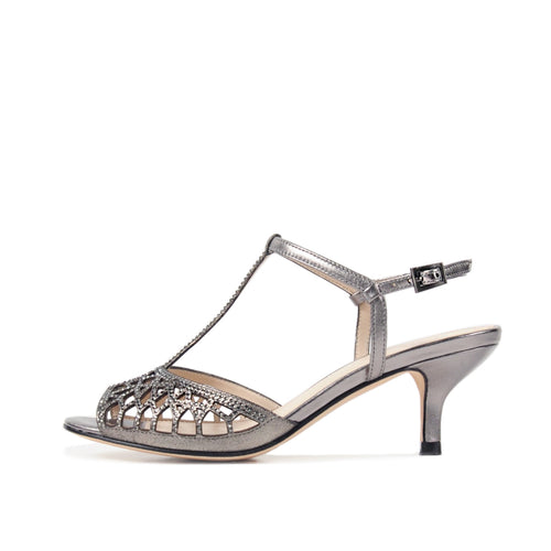 Adaline (Pewter / Metallic Kid Nappa) 60% Off