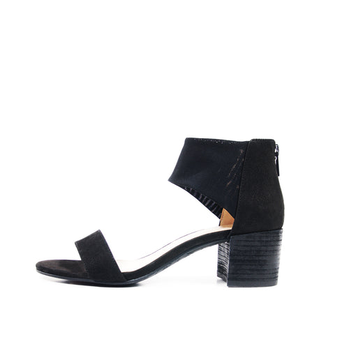 Pelle Moda - Alden - Black Low Block Heels