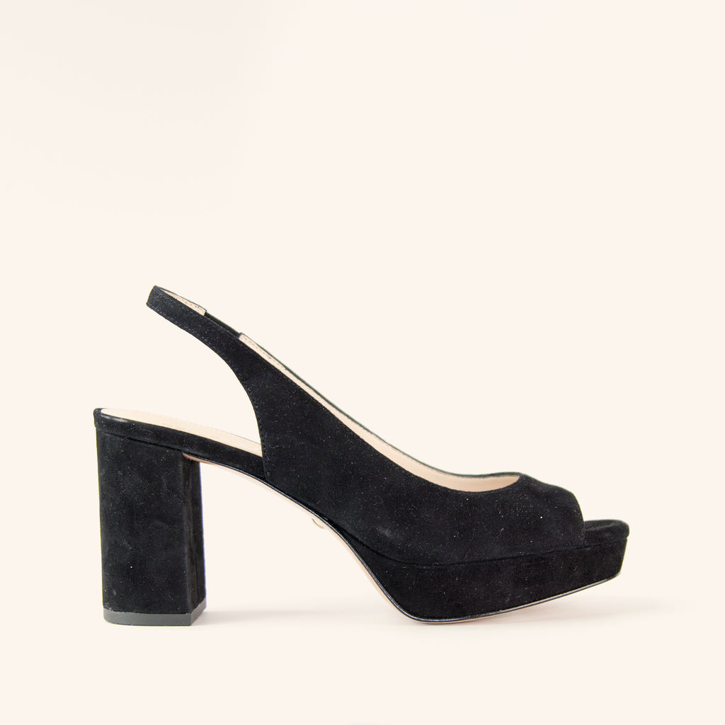 Amaya (Black/Kid Suede)