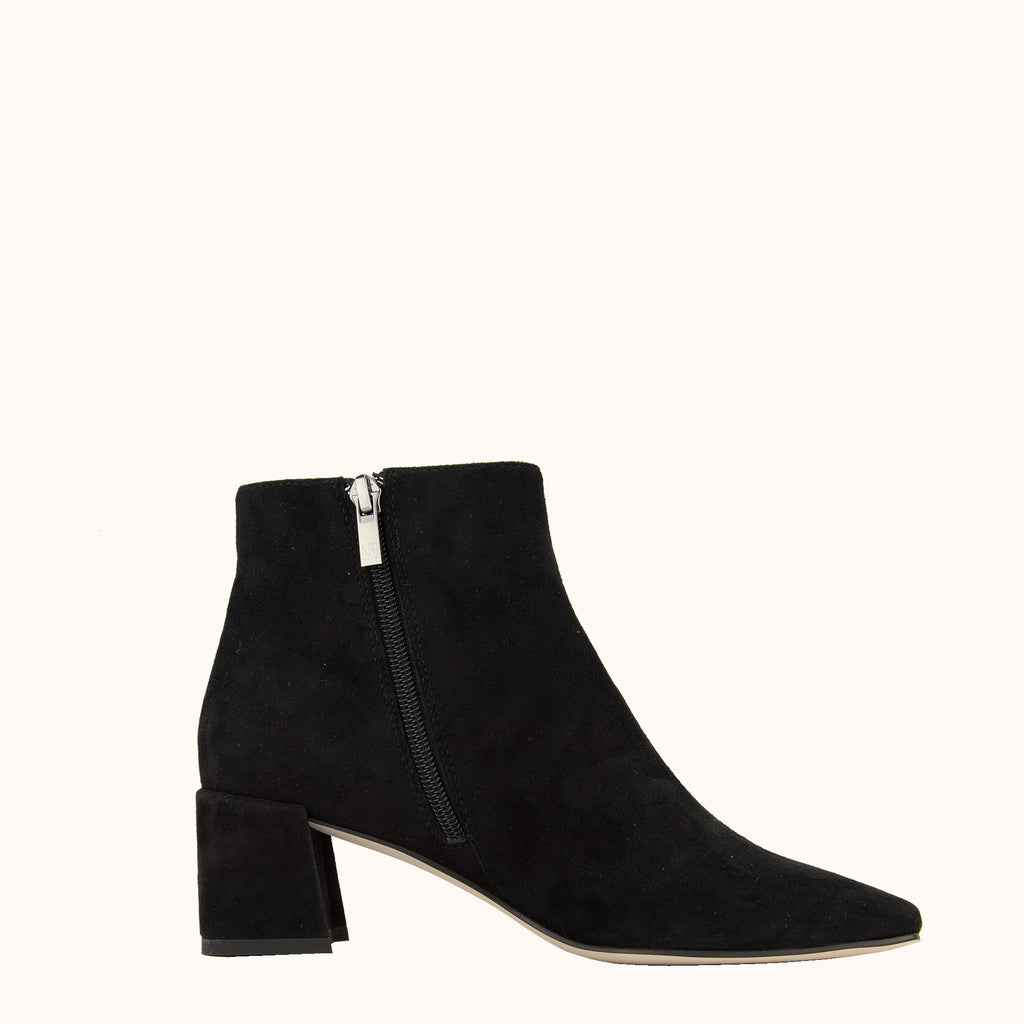 Aliya (Black / Kid Suede)