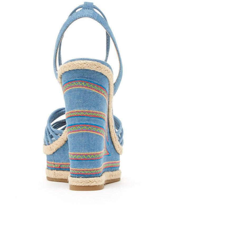Onos (Chambray / Denim / Embroidery) - Pellemoda.us  - 2