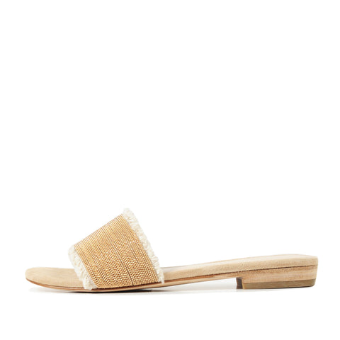 Fatima (Sand / Kid Suede) 50% Off