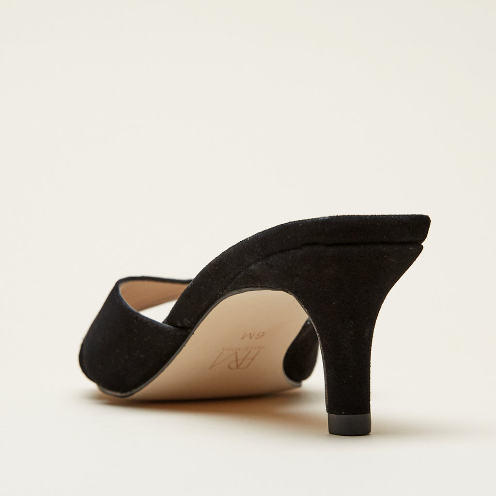 Bea (Black / Kid Suede)